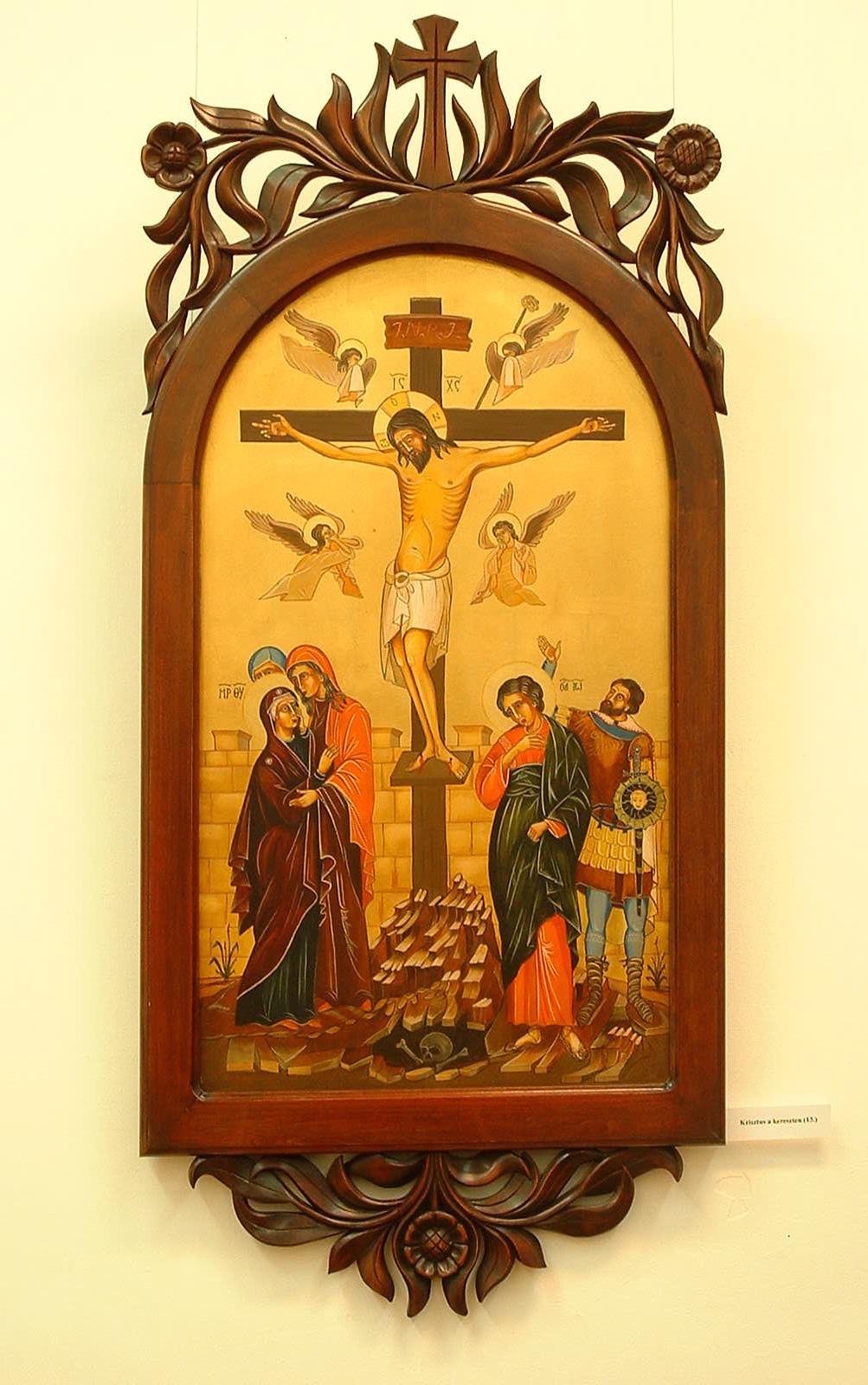 Krisztus a kereszten