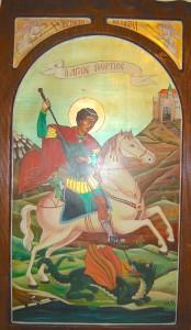 Szent György a sárkánnyal III.